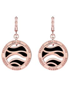 Guess Retro Revival Animal Coin Earrings