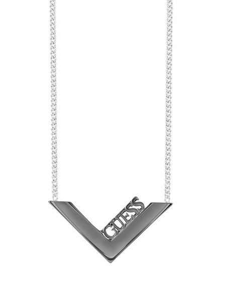 Guess Triometric Geo V Necklace