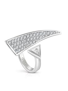 Guess The Crown Horn Statement Ring