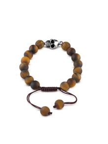 Guess Men`s tiger eye bracelet