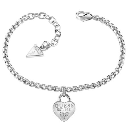 Guess All about shine 1981 padlock bracelet