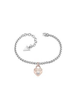 All about shine 1981 padlock bracelet