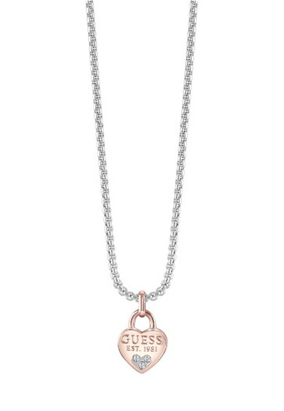 Guess All about shine 1981 padlock pendant