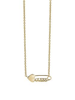 Pin-up ubn83118 safety pin necklace