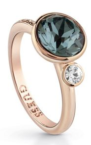 Guess Copacabana ubr83013-54 blue stone ring