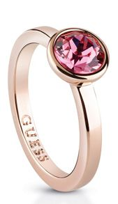 Guess Miami ubr83019-54 rose crystal ring
