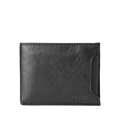 Fossil Fossil ingram mens sliding 2 in 1 wallet Brown