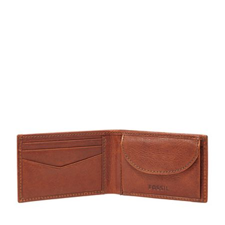 Fossil Fossil conner mens slim coin wallet