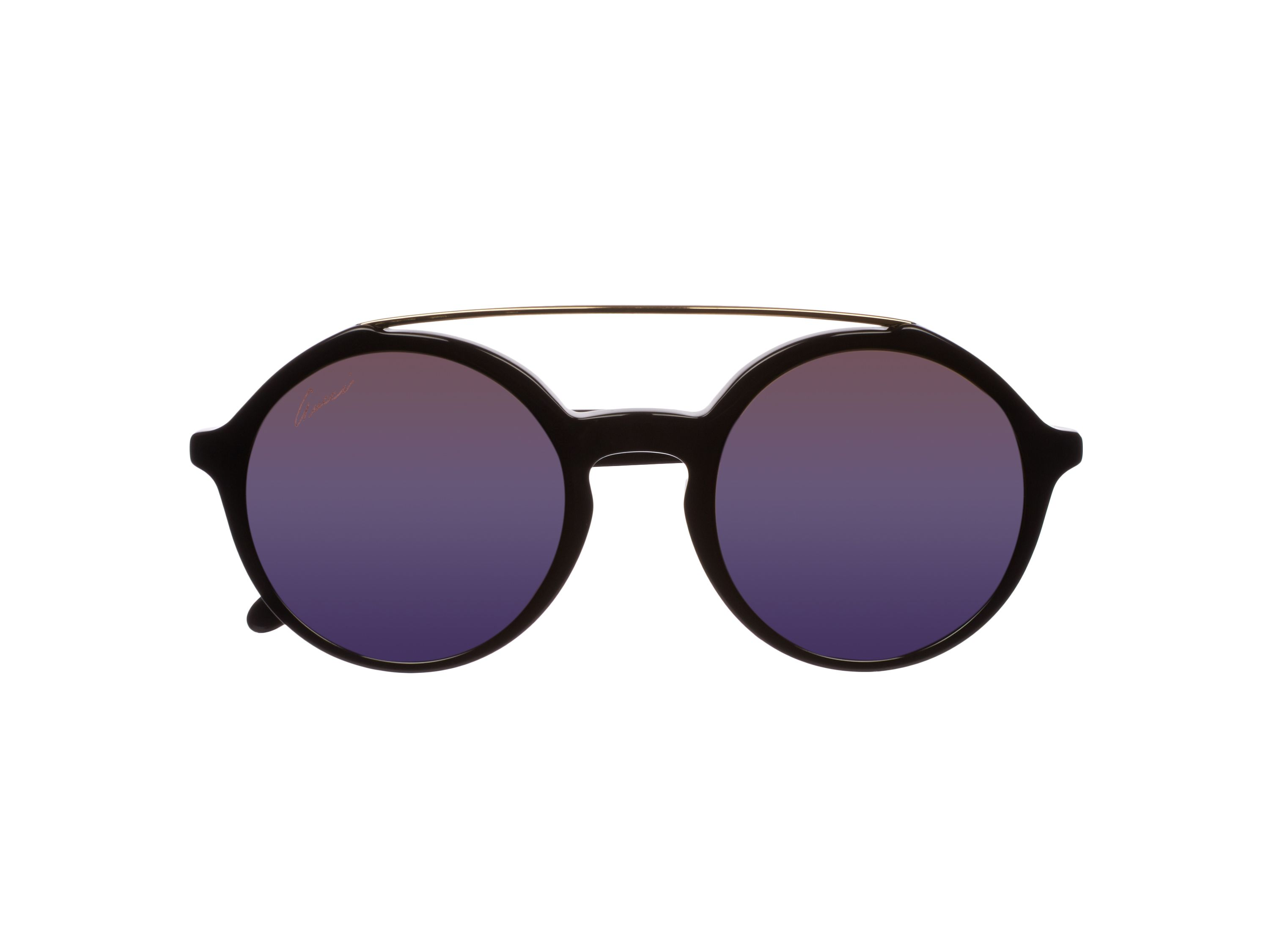 Women`s purple pol rectangular sunglasses