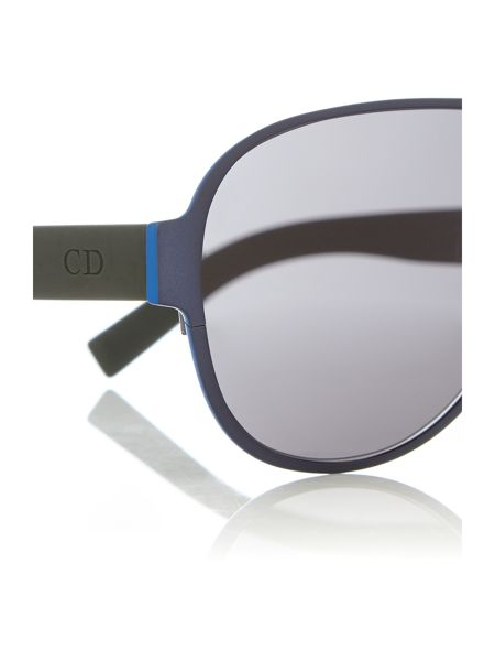 Dior Sunglasses DIOR0190S female black rectangle sunglasses
