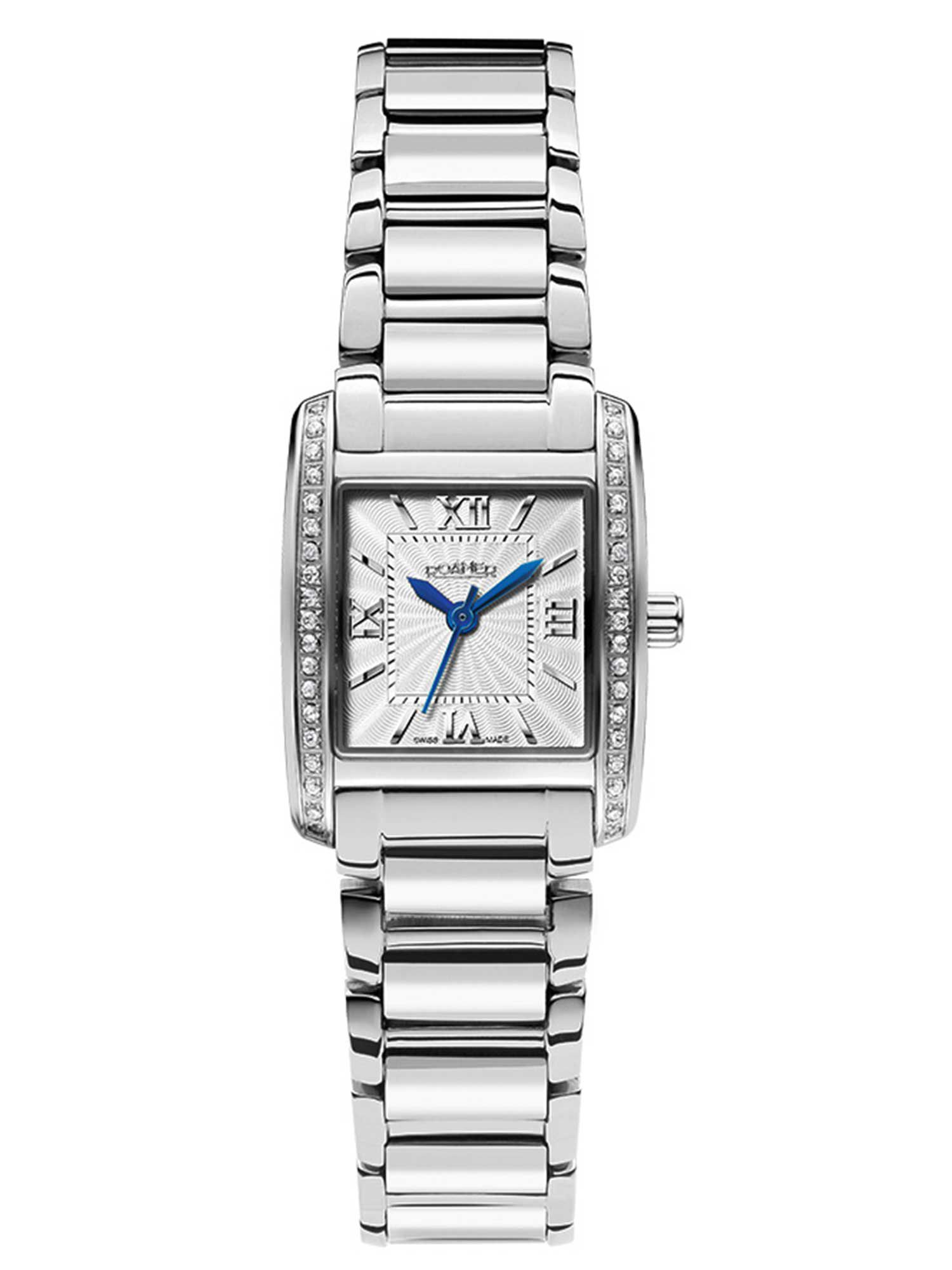 DS75.10ROX Swiss elegance silver ladies watch