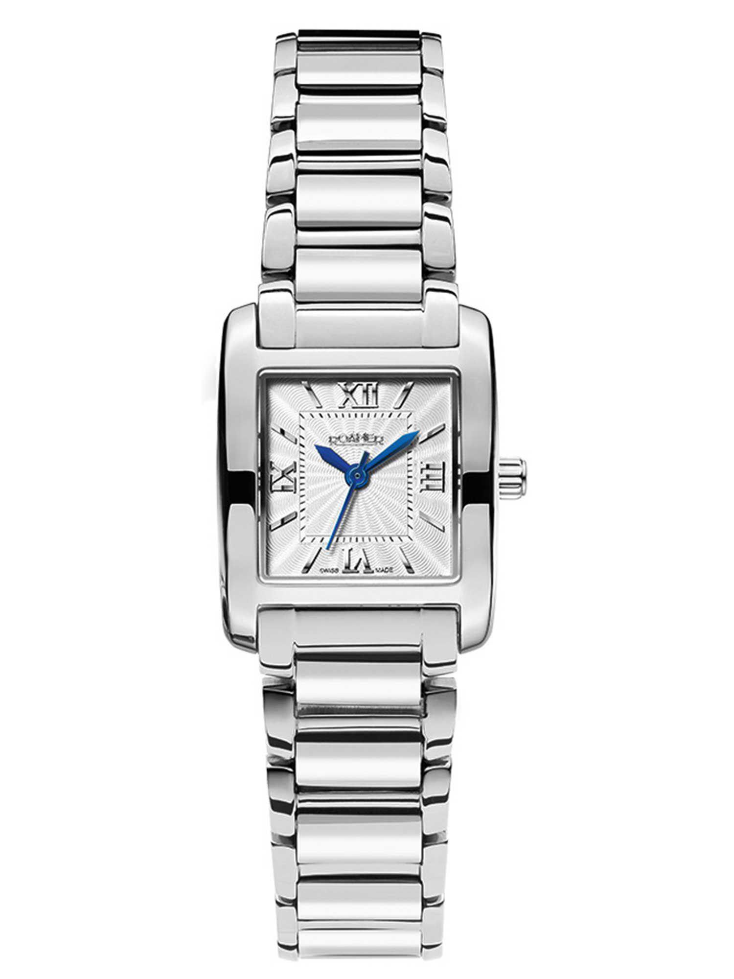 DS73.10ROX Swiss elegance silver ladies watch