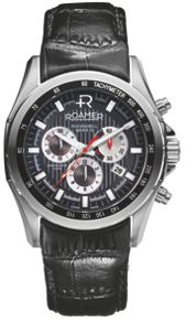 DT19.03ROX Rockshell leather chronograph watch