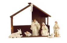 Belleek Living Classic Nativity set