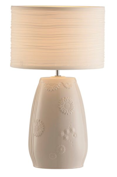 Belleek Living Sunflower lamp and shade