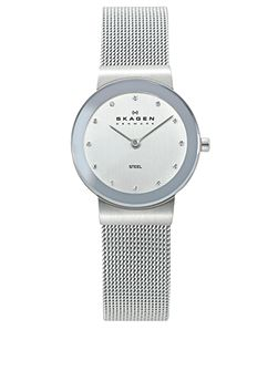 358SSSD Classic Silver Ladies Mesh Watch