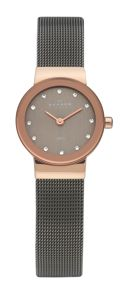 Skagen 358XSRM Classic Black Ladies Mesh Watch