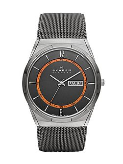 SKW6007 Active Gunmetal Mens Mesh Watch