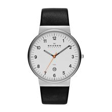 SKW6024 Ancher Black Leather Mens Watch