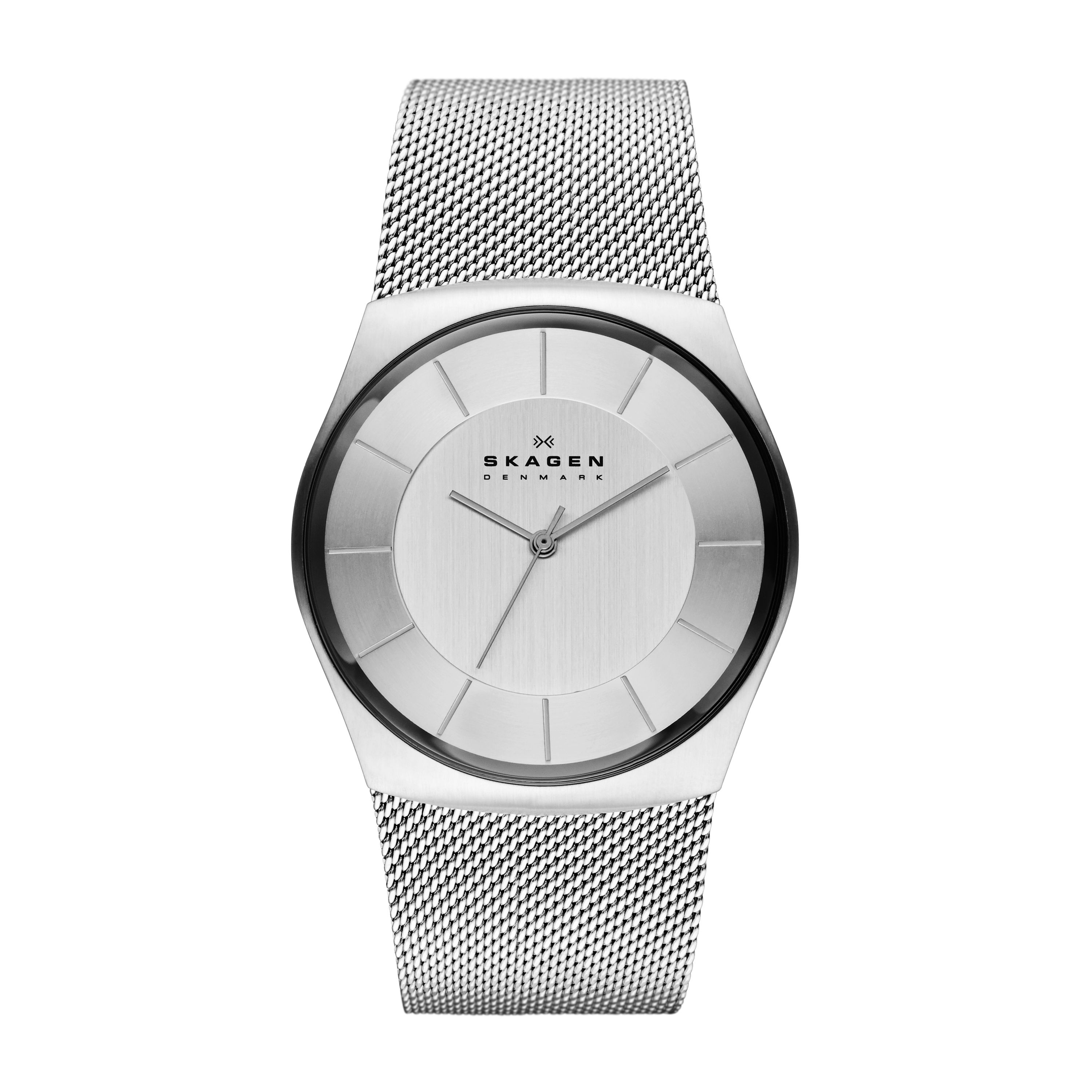 SKW6067 Classic Silver Mens Mesh Watch