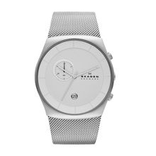 SKW6071 Classic Silver Mens Mesh Watch