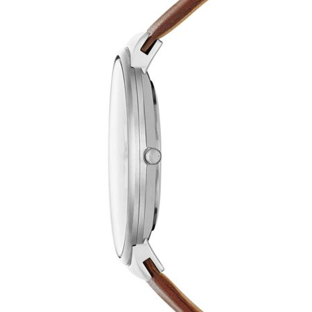 Skagen SKW6082 Ancher Tan Leather Mens Watch