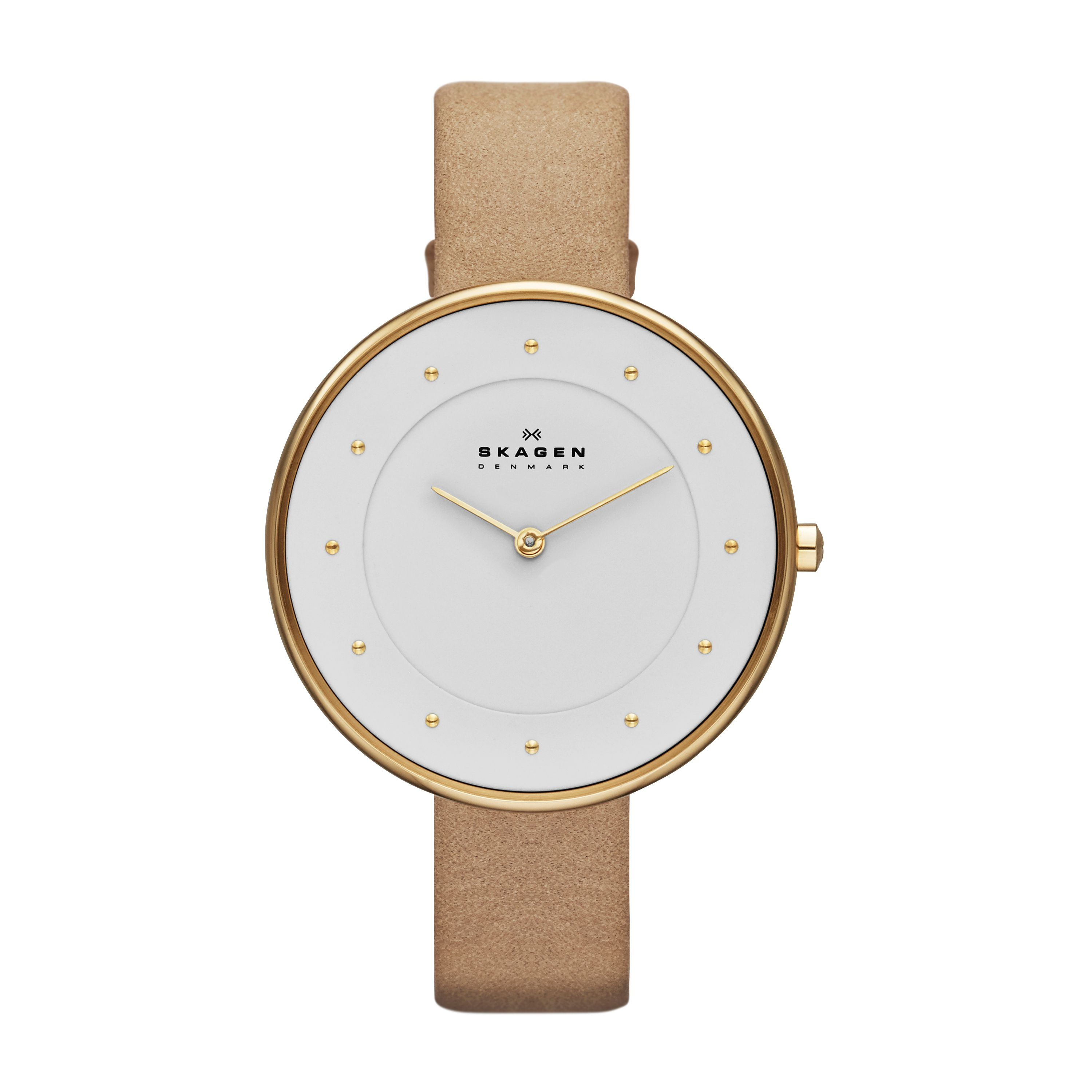 SKW2137 Gitte Sand Leather leadies Watch