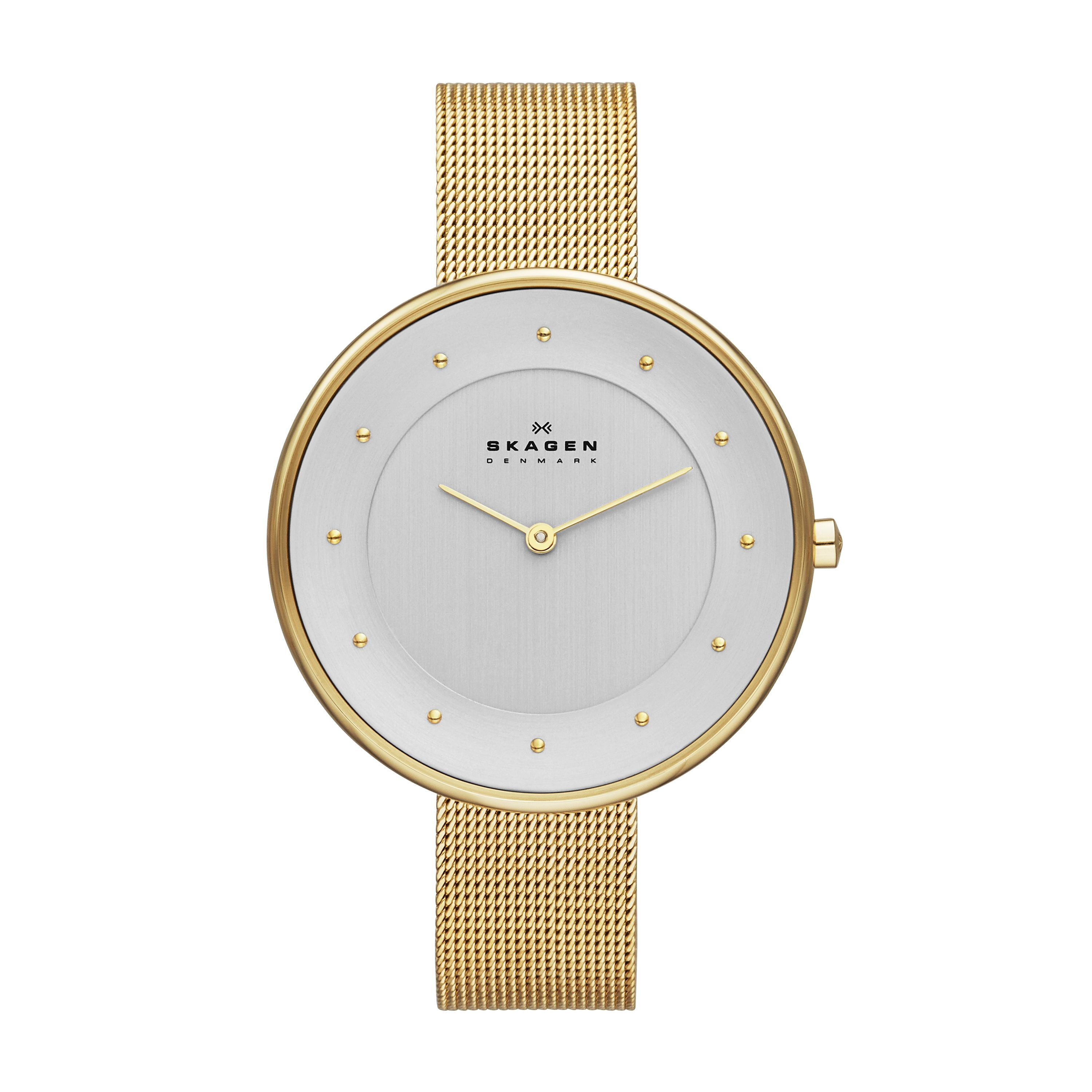 SKW2141 Gitte Gold Ladies Mesh Watch