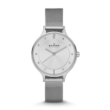 SKW2149 Anita Ladies Silver Mesh Bracelet Watch