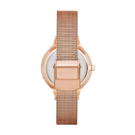 Skagen SKW2151 Anita rose gold ladies mesh watch