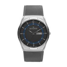 SKW6078 Titanium grey mesh bracelet watch