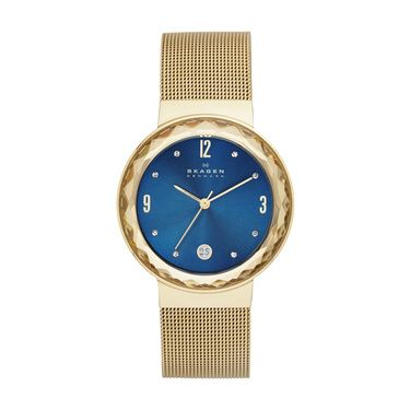 SKW2181 Leonora Ladies Gold Mesh Bracelet Watch