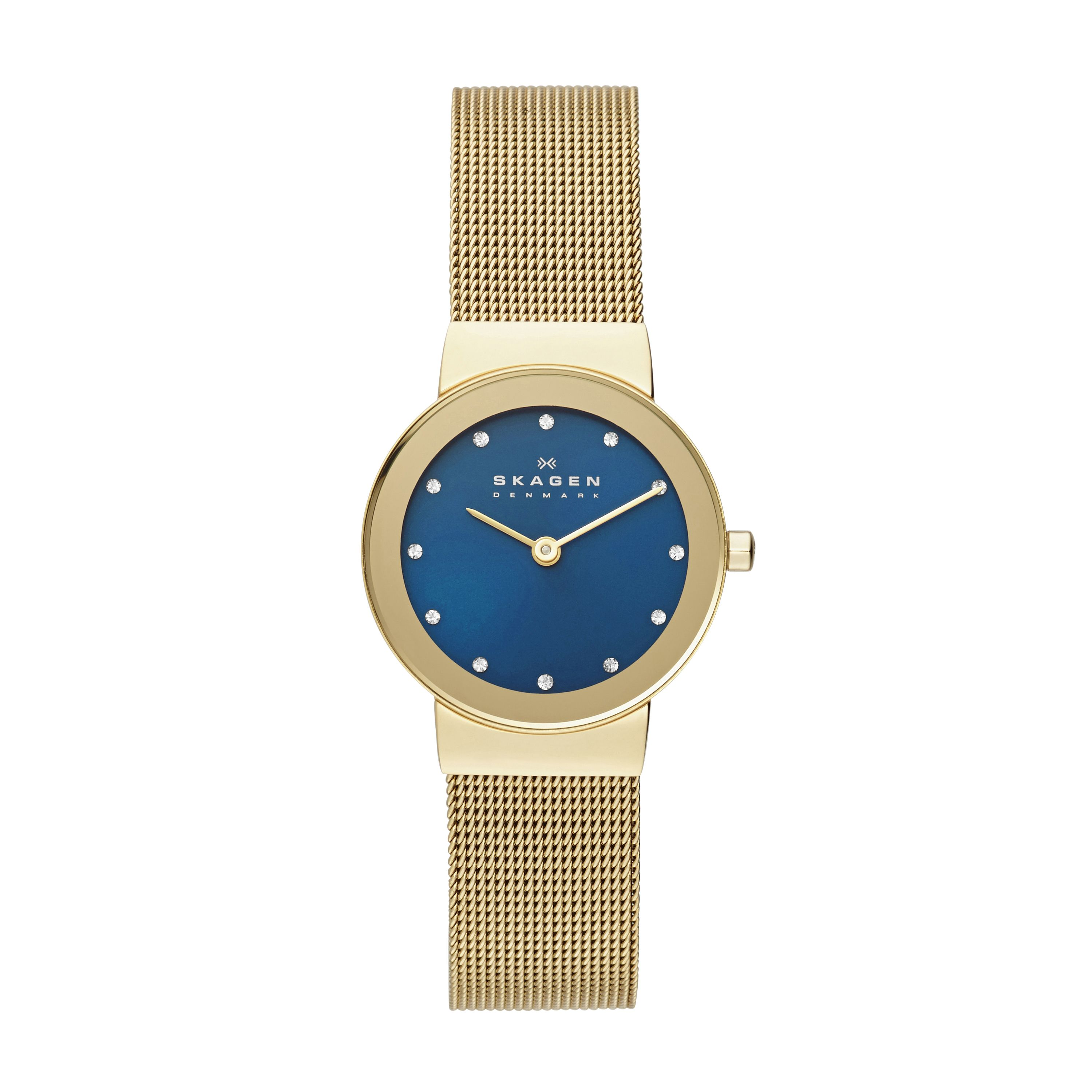 SKW2182 Freja gold & blue ladies bracelet watch