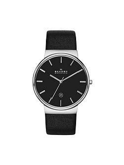 Refined 355 Leather Mens Watch