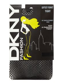 DKNY Soft fishnet tights