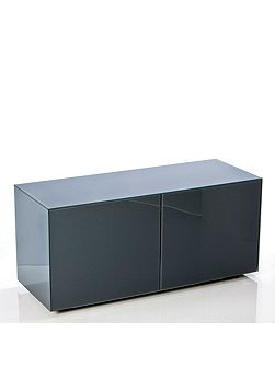 Gloss Grey TV Cabinet