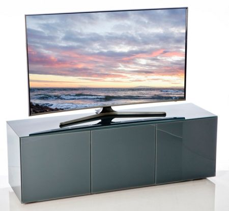 Frank Olsen Gloss Grey TV cabinet