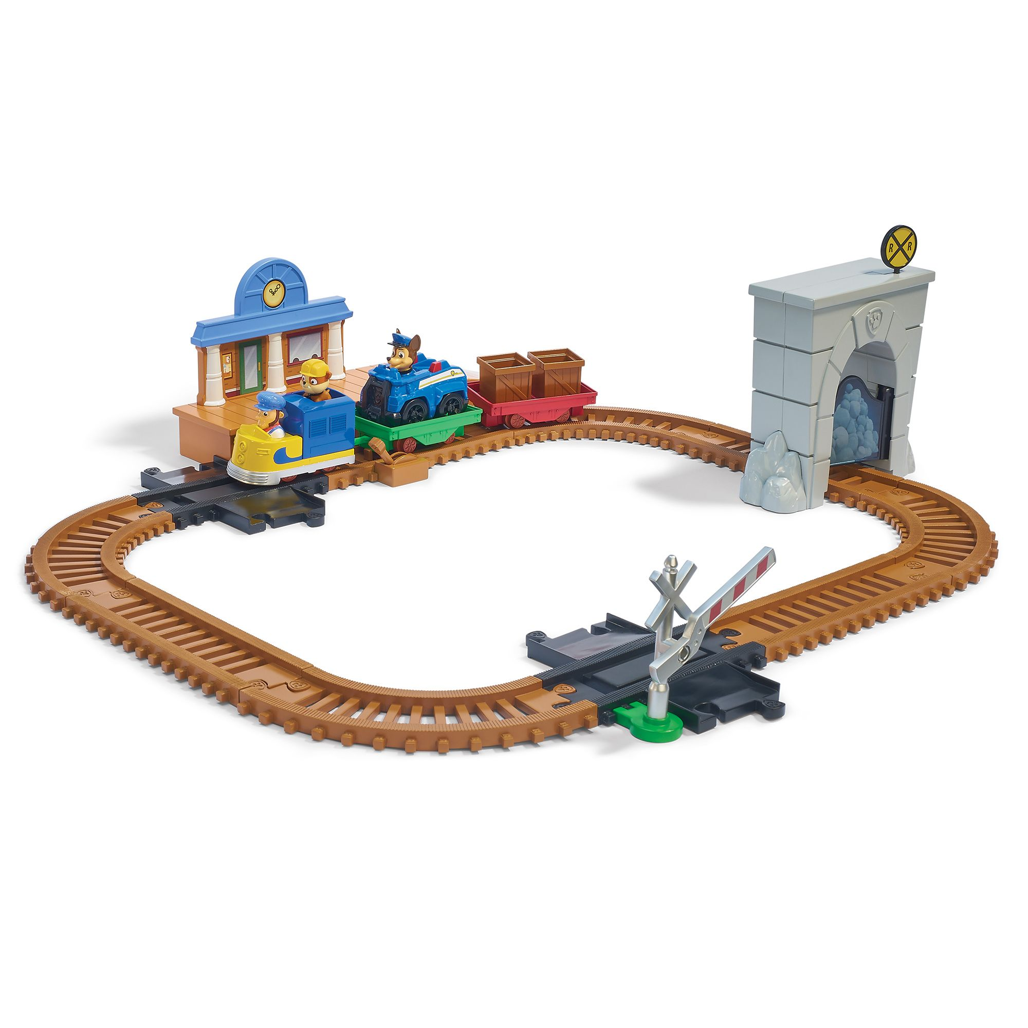 PAW PATROL Roll Patrol Adventure Bay Railway Track