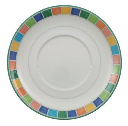 Villeroy & Boch Twist Alea Limone Saucer for Breakfast cup, 17cm