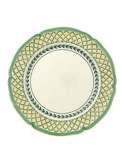 French Garden Orange Dinner plate, 26cm