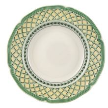 French Garden Orange Deep plate