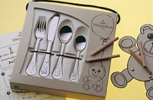 Teddy kid`s 4 piece cutlery set