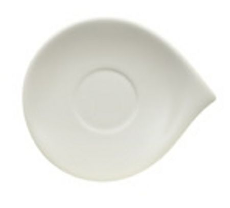 Villeroy & Boch Flow Saucer for breakfast cup, 21x18cm