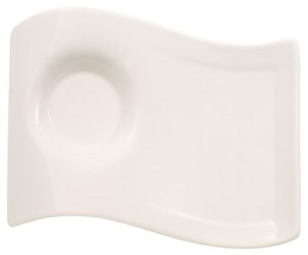 Villeroy & Boch NewWave Caffe Small Party plate, 17x13cm