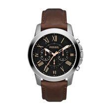 FS4813 Grant Brown Leather Mens Watch