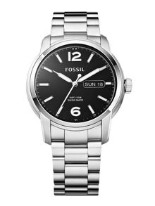 FSW4000 Day-date stainless steel mens watch