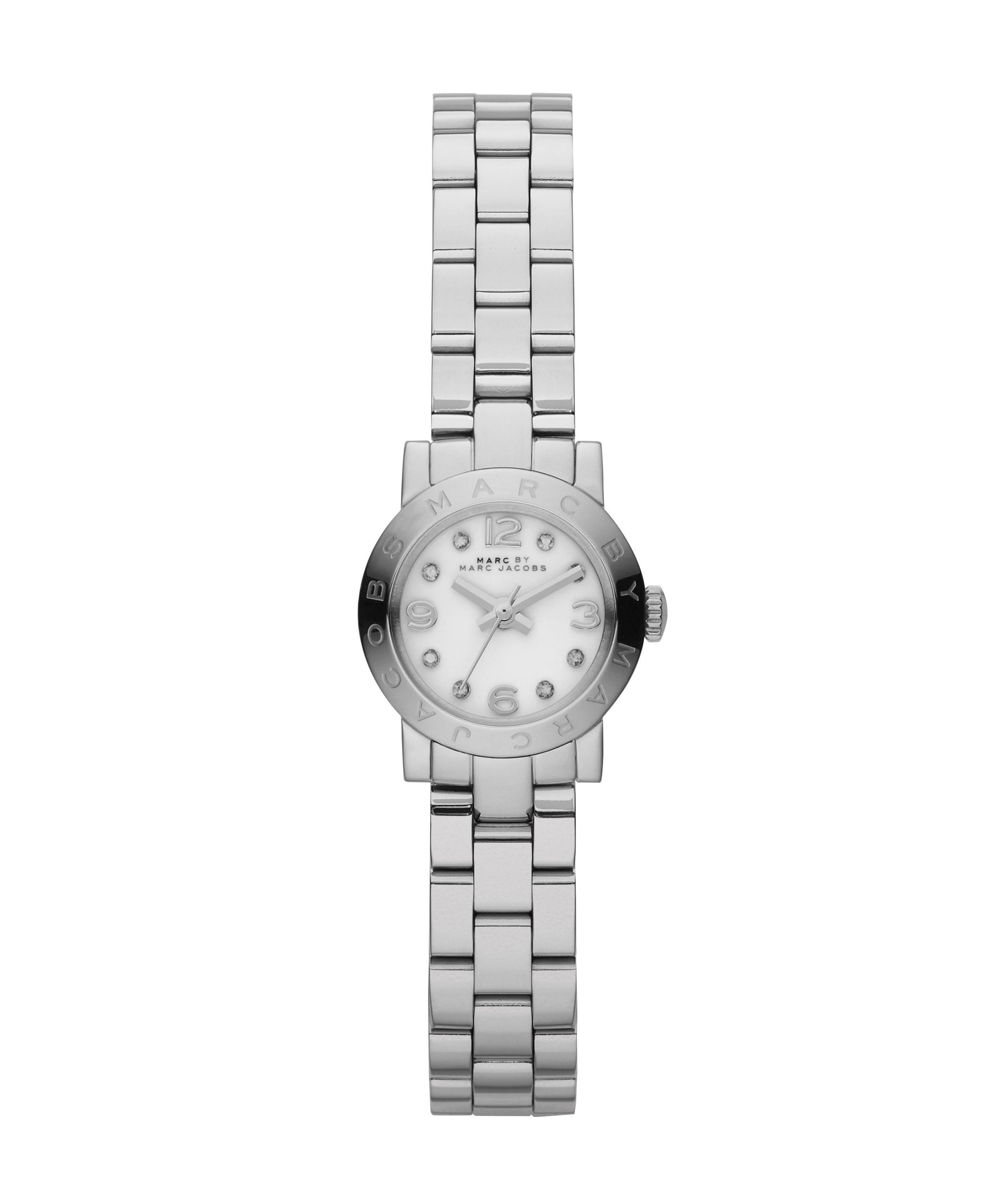 MBM3225 Amy dinky silver stainless steel ladies w