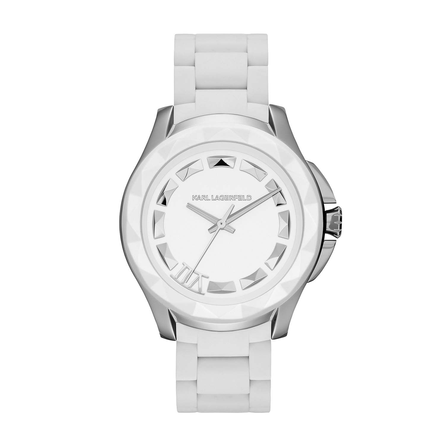 KL1014 KLASSIC white unisex watch