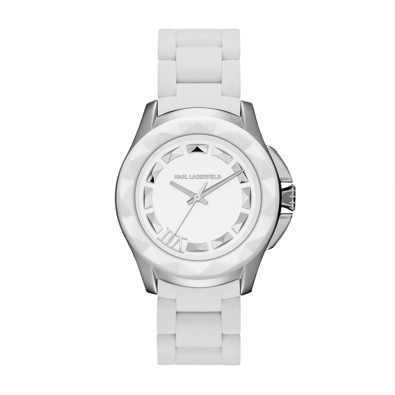 KL1016 KLASSIC white unisex watch