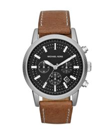 MK8309 Scout Tan Leather Mens Watch